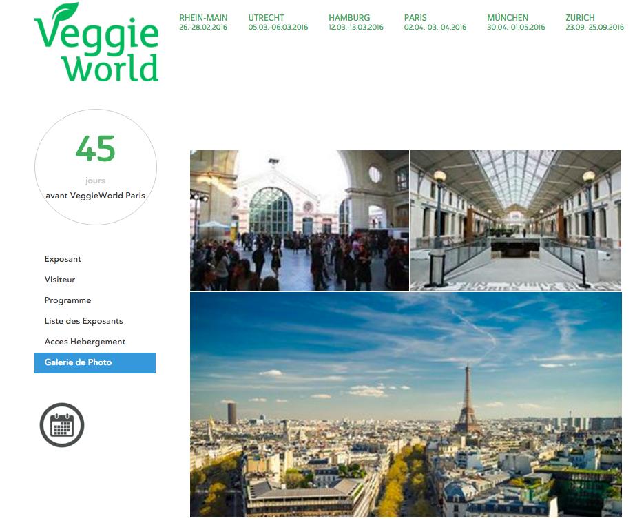 veggie world centquatre Paris
