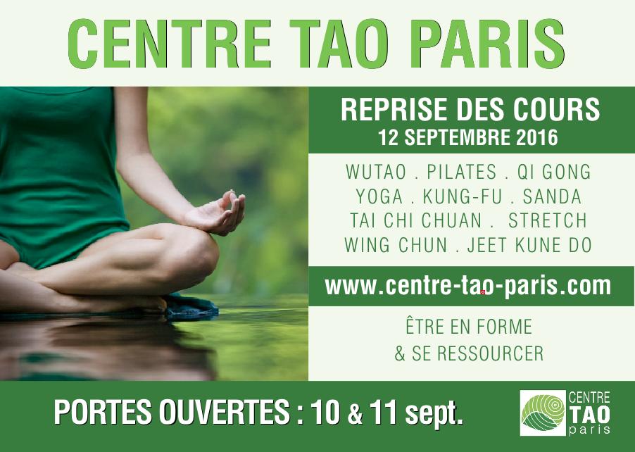 Centre Tao Paris portes ouvertes
