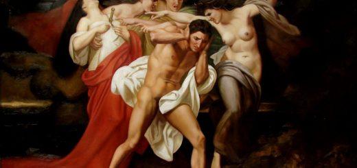 Les remords d'Oreste (William Bouguereau)