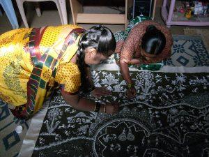 Femmes qui peignent